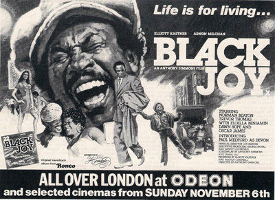 Black Joy Advert 1977