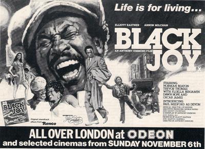 Black Joy Advert 1977
