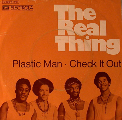 The Real Thing - Plastic Man - 1973