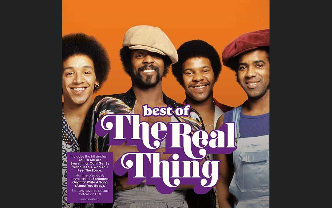 Here it comes… The Best of The Real Thing on CD!